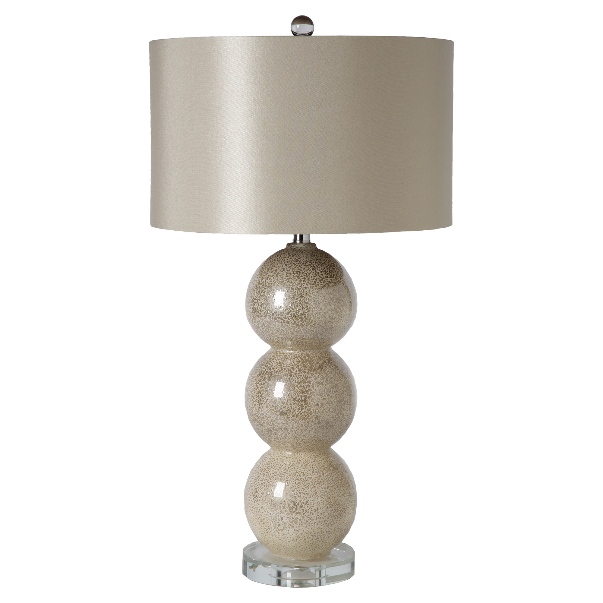 Dom Modern Classic Champagne Gold Orbs Table Lamp