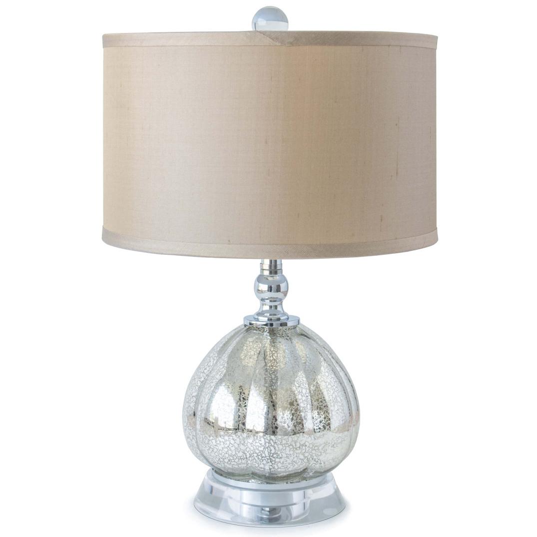 Holsten Modern Mercury Glass Drop Mini Table Lamp