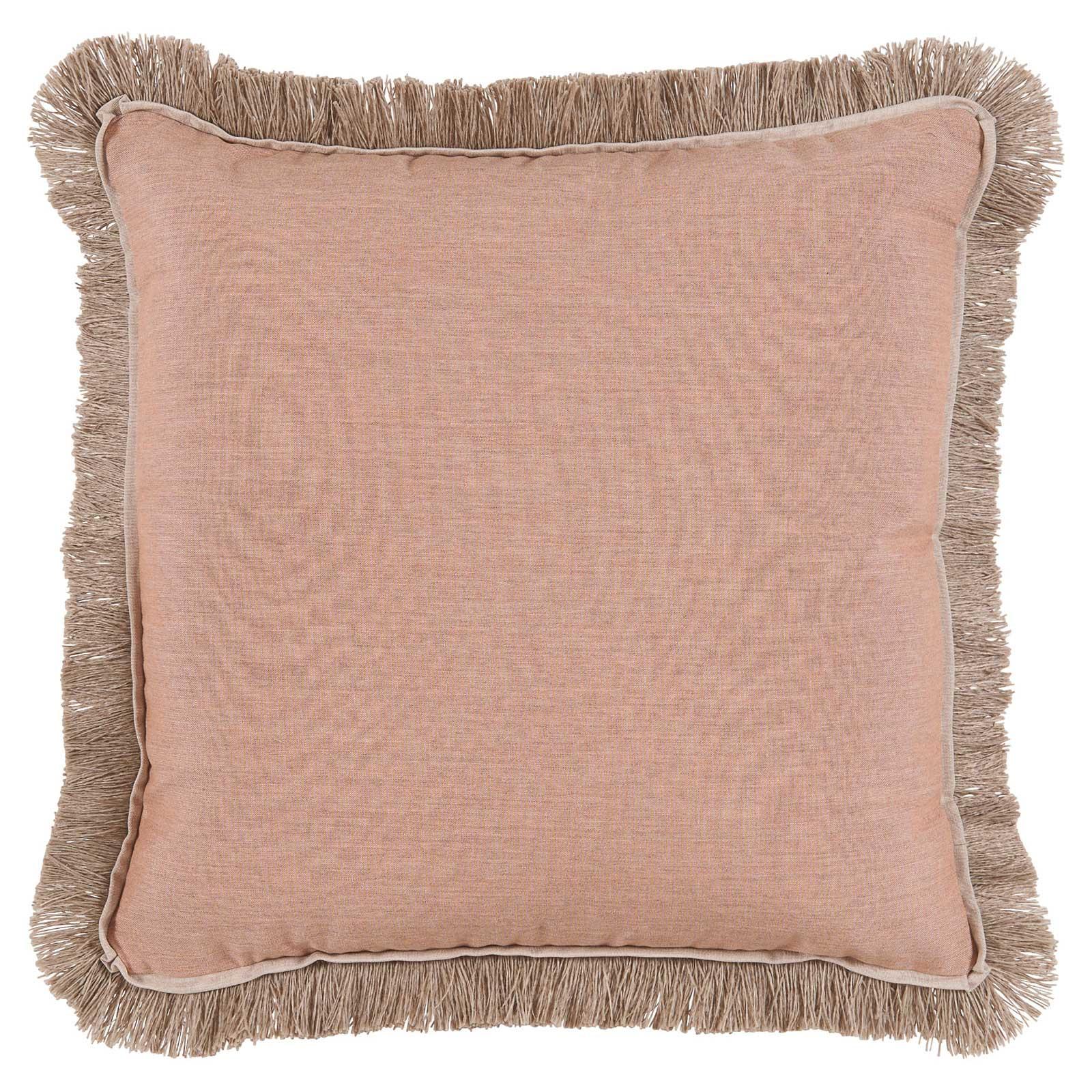 Talli Regency Fringe Rose Outdoor Pillow - 20x20