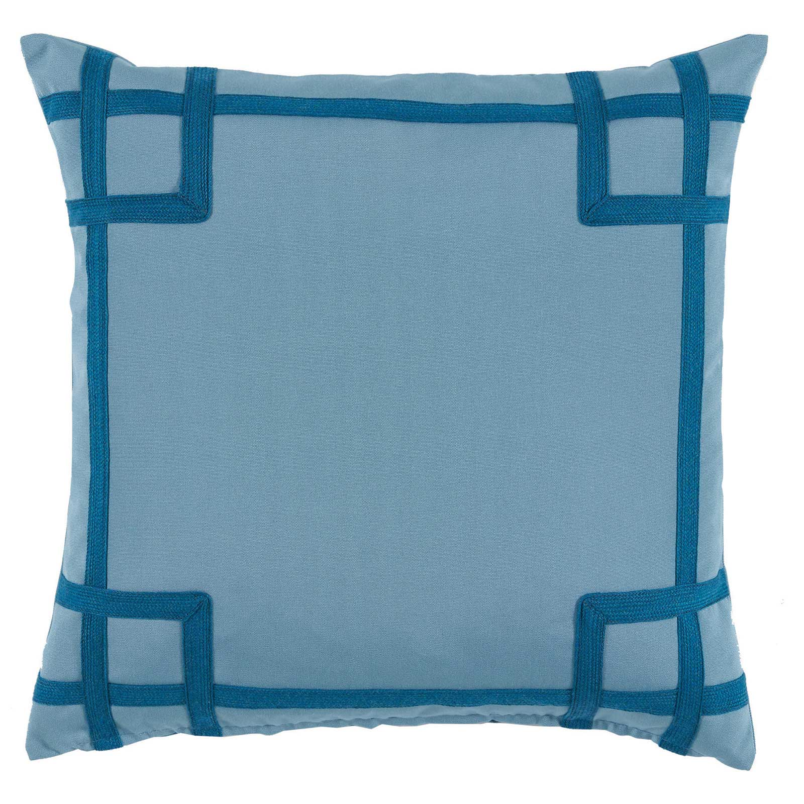 Paton Classic Outdoor Sky Trellis Trim Pillow - 20x20