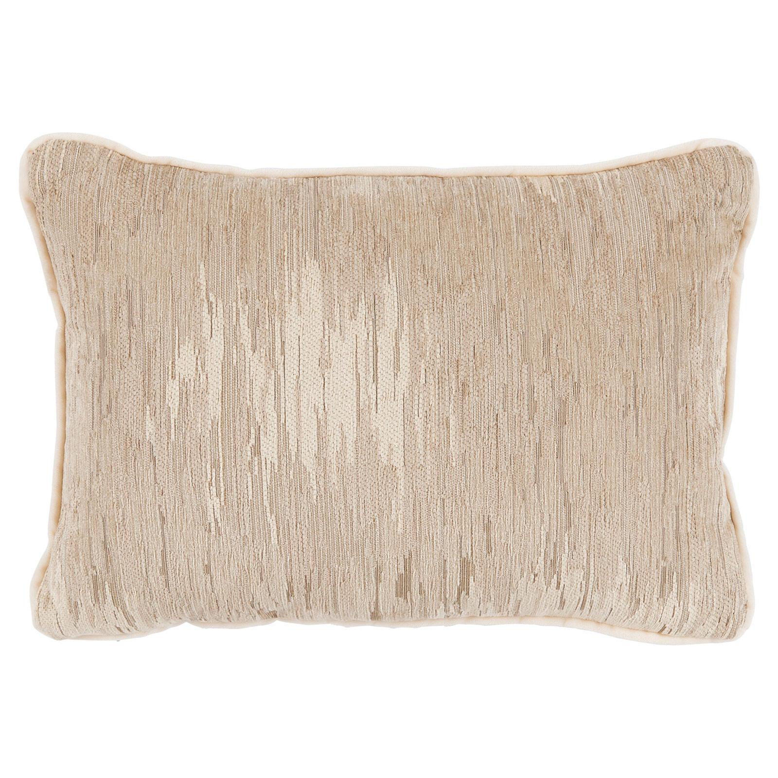 Oz Modern Classic Champagne Beige Linear Pillow - 13x19