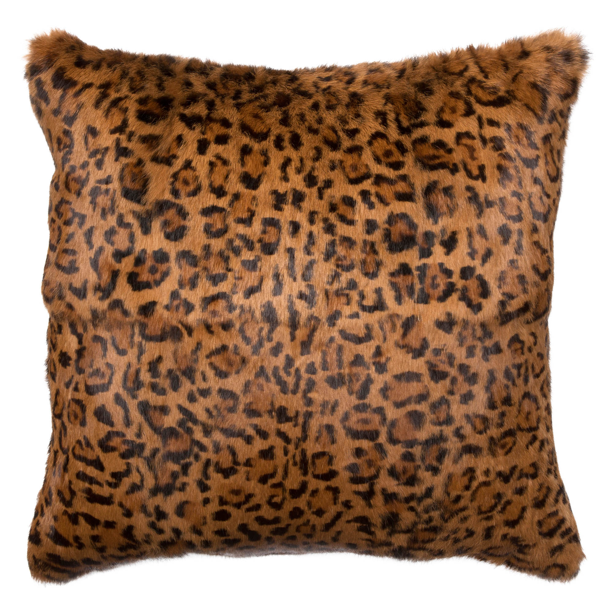 Shenzi Global Bazaar Leopard Print Decorative Pillow - 20x20