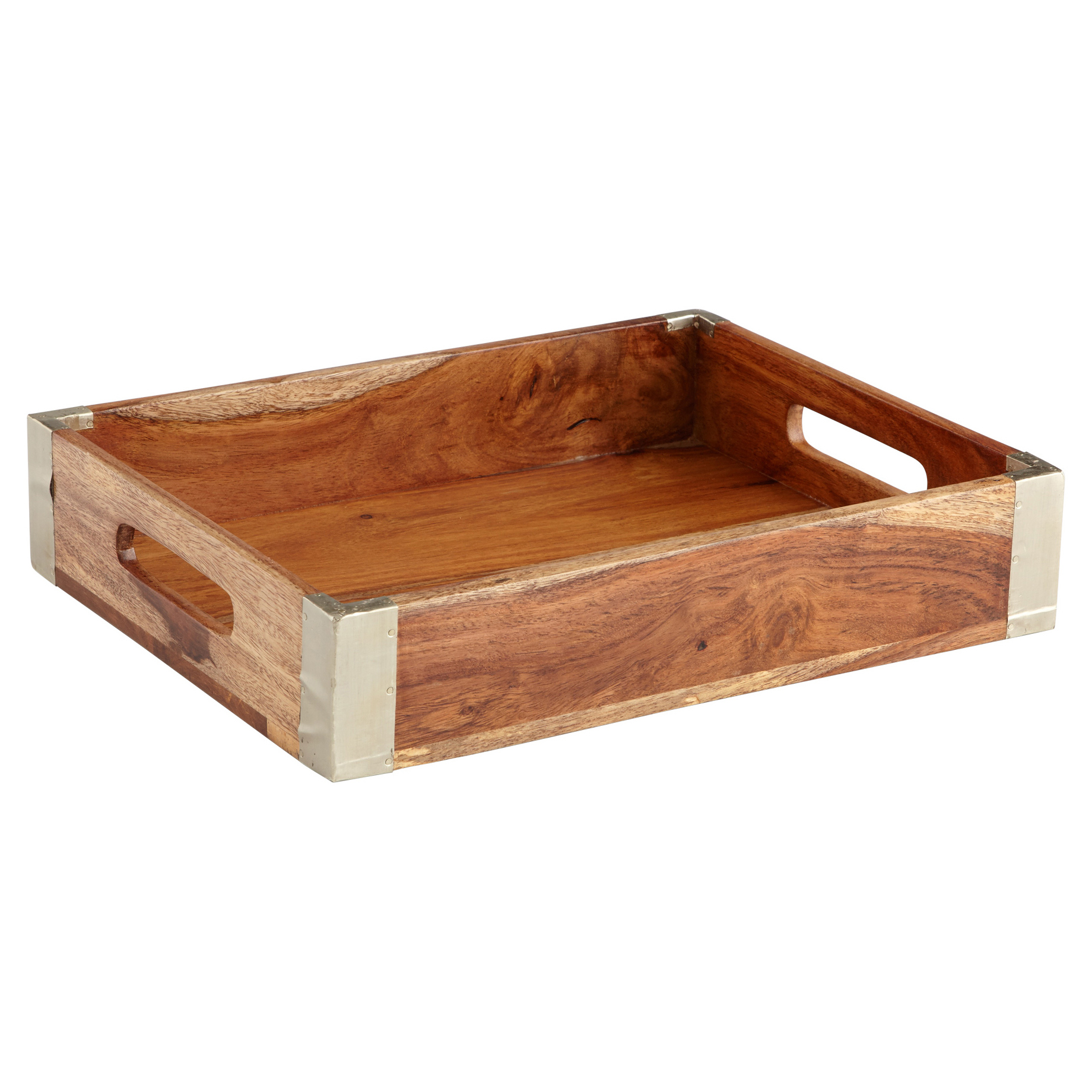 Gordo Rustic Lodge Reclaimed Wood Tray