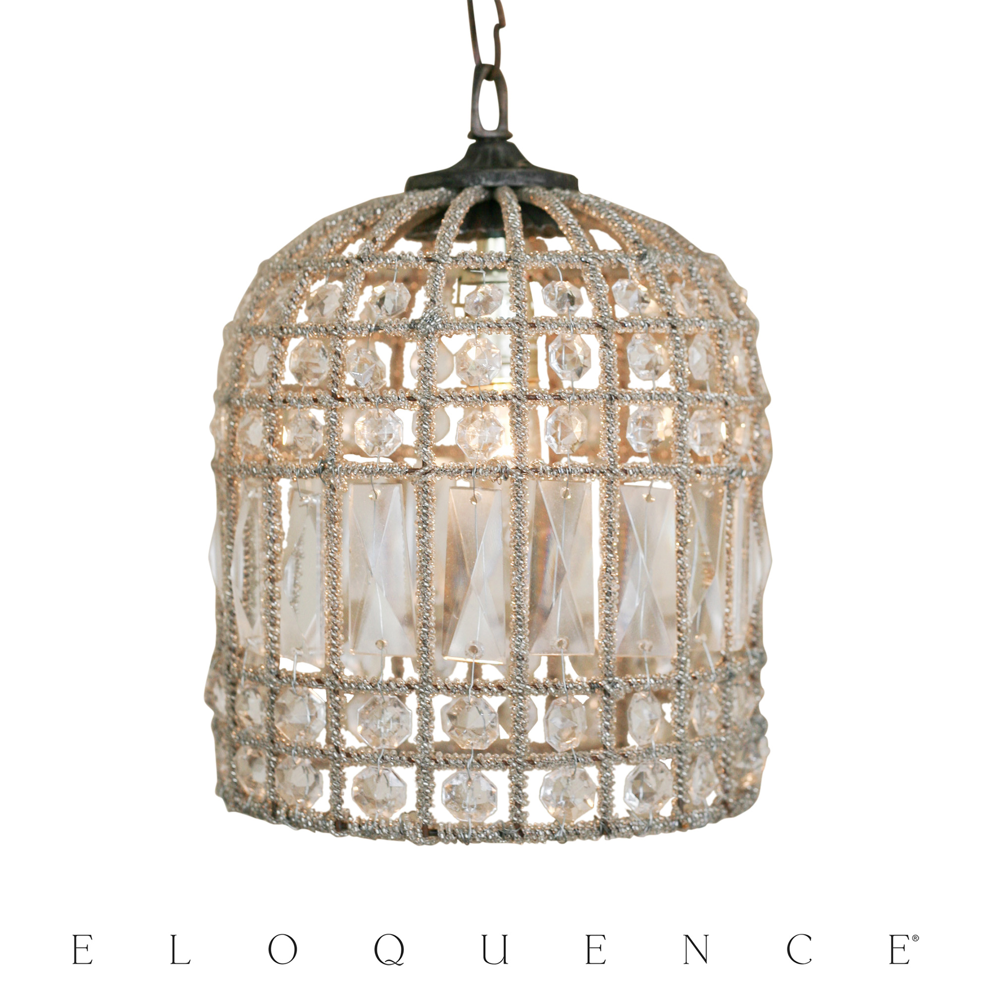 Eloquence Small Birdcage Chandelier