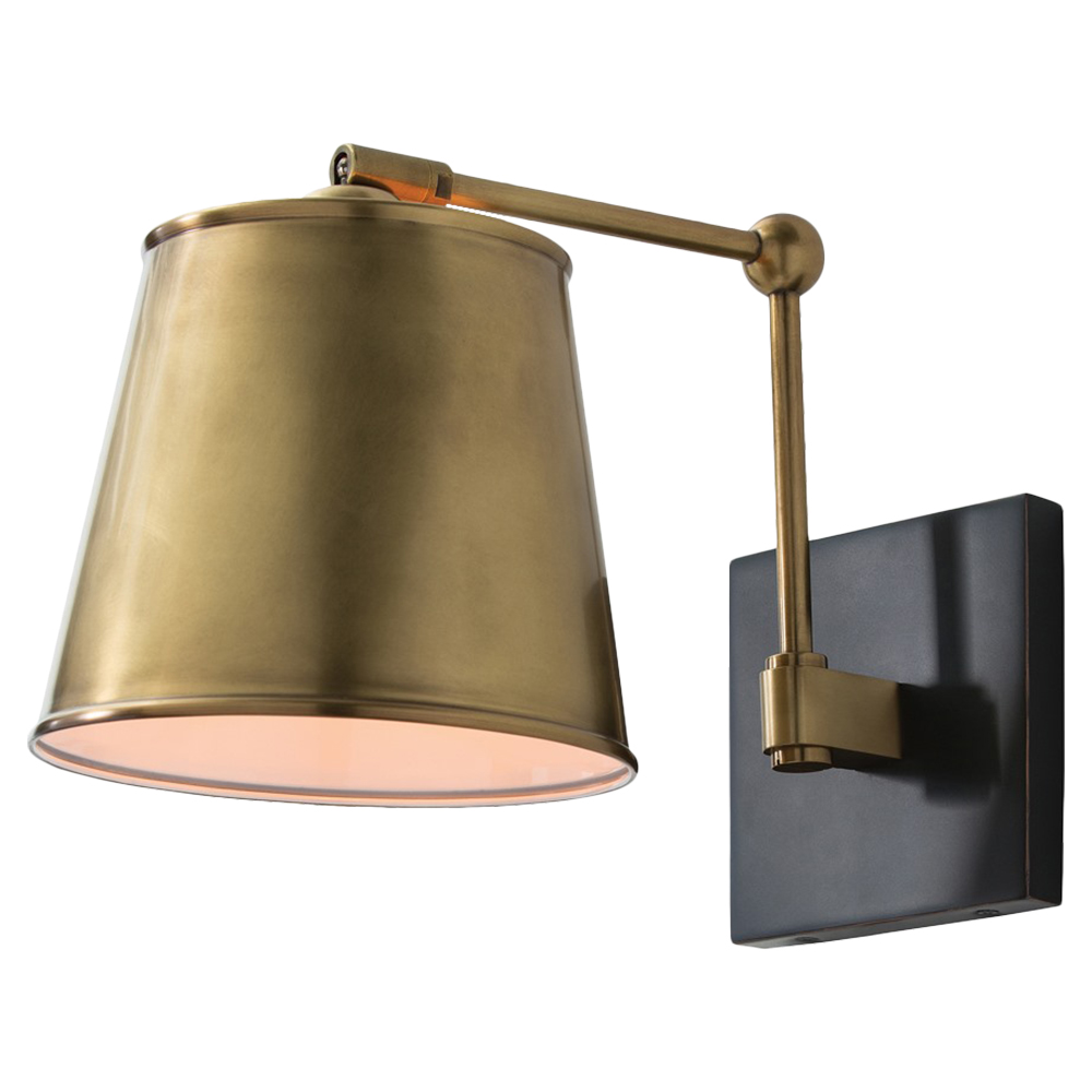Edgar Bronze Antique Brass Classic Sconce