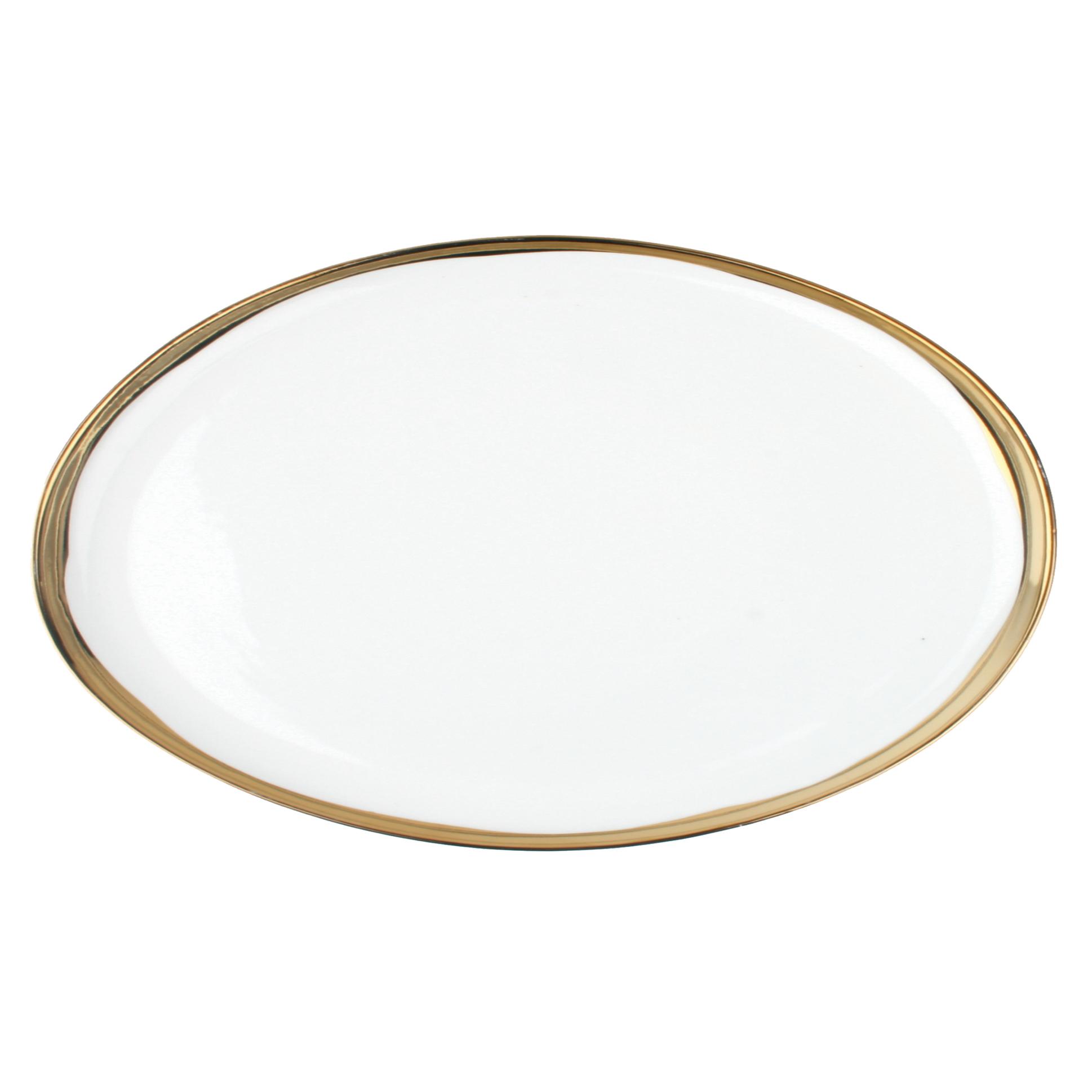 Dauville Regency Gold Trim Platter
