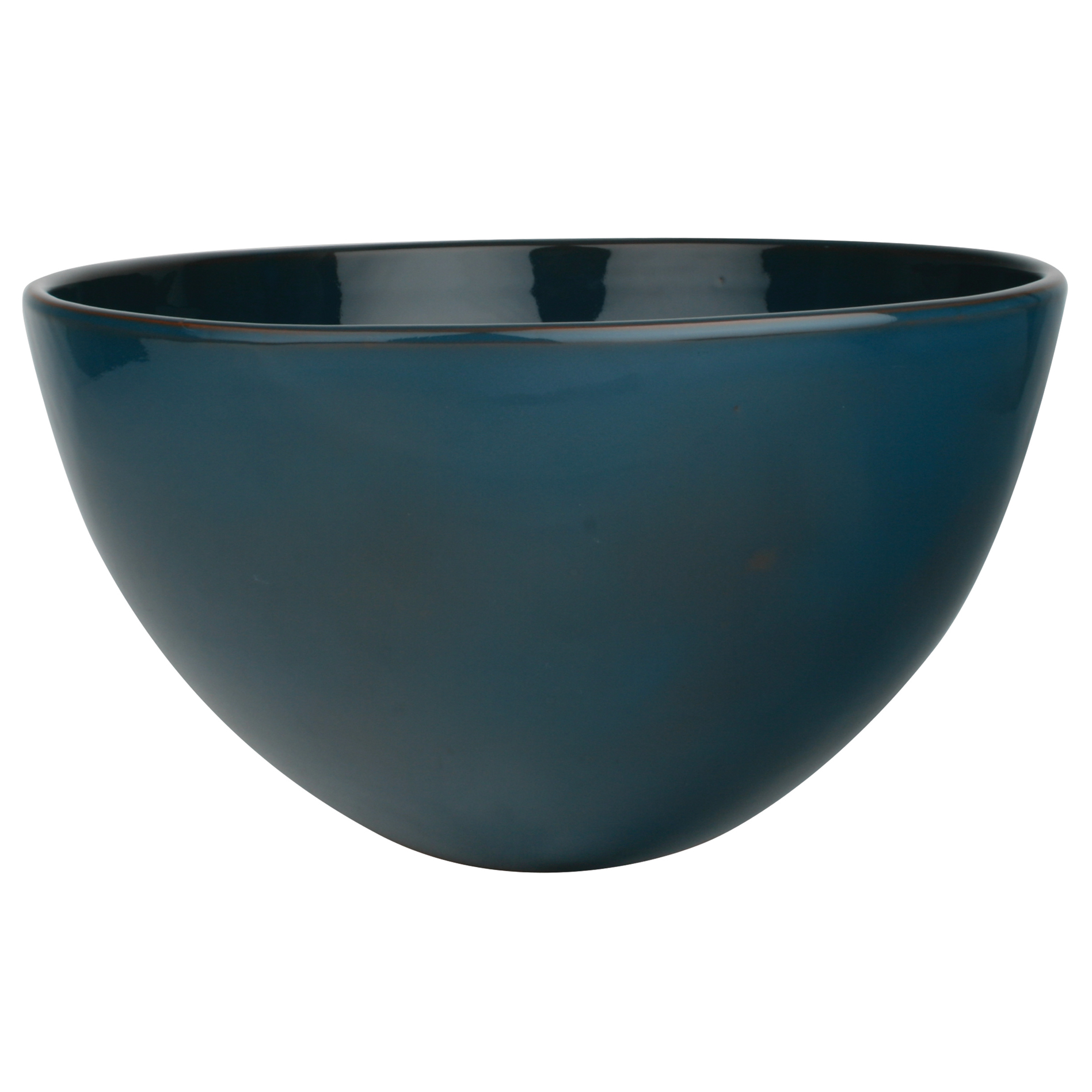 Sintra Extra Large Ceramic Serving Bowl - Deep Blue