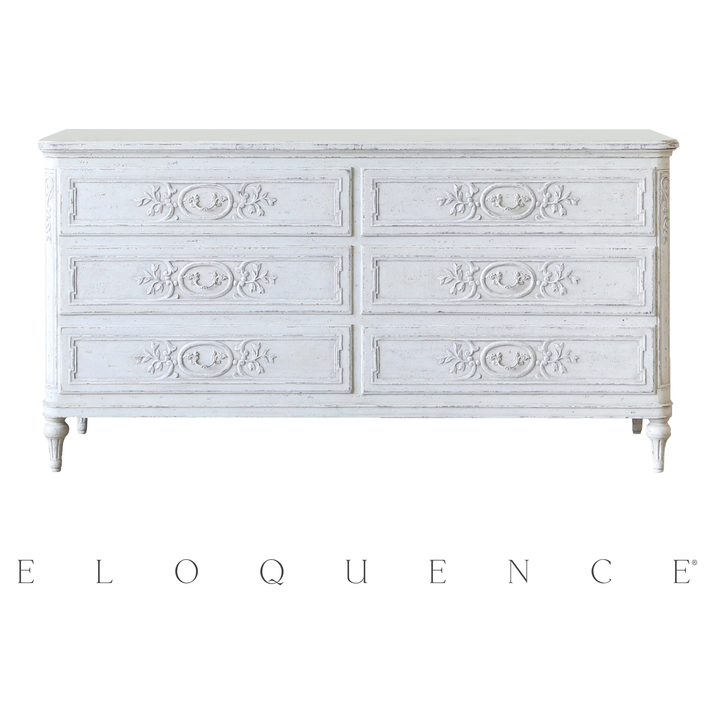 Eloquence® Bronte Dresser in Weathered White