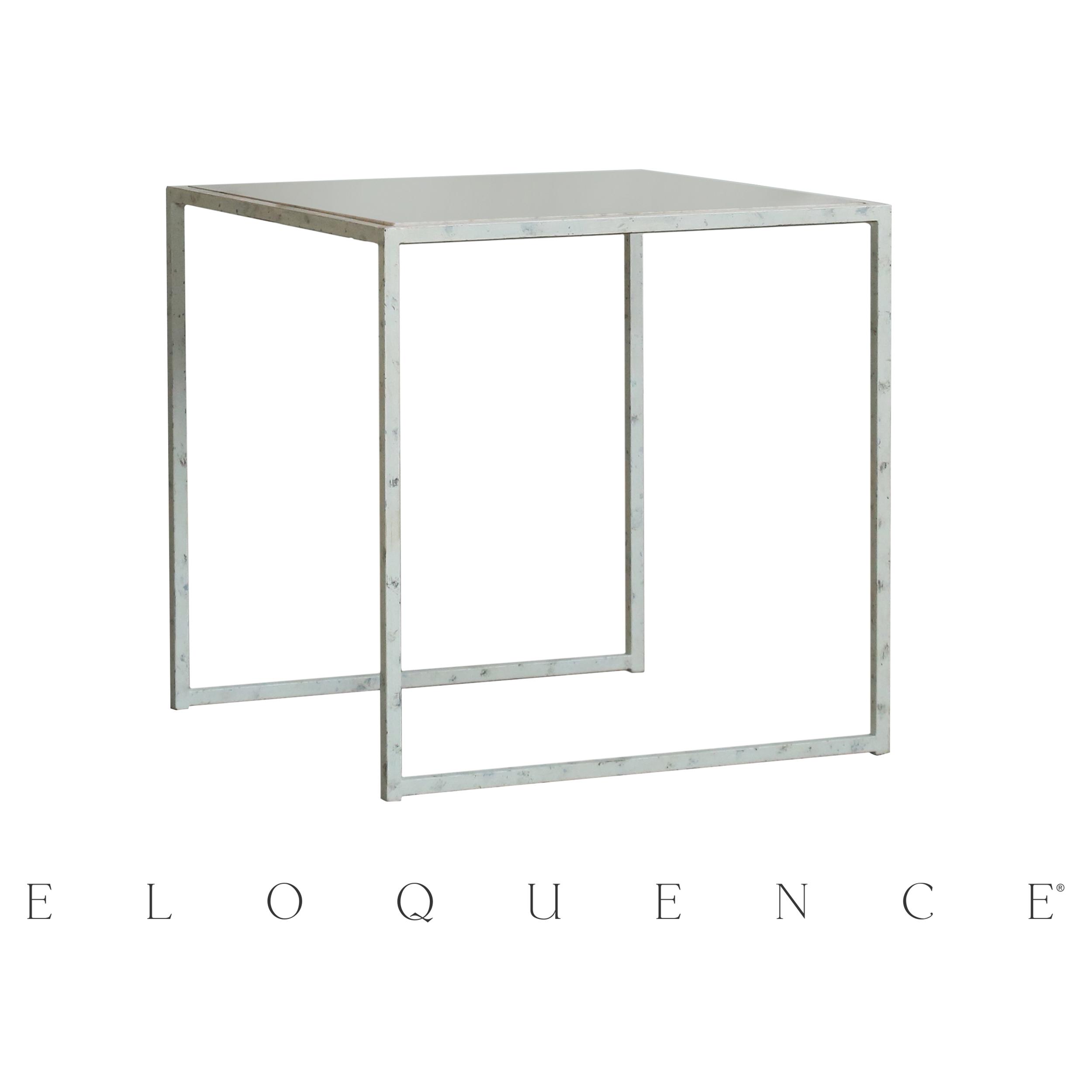 Eloquence® Fredrik Sel De Mer White Side Table