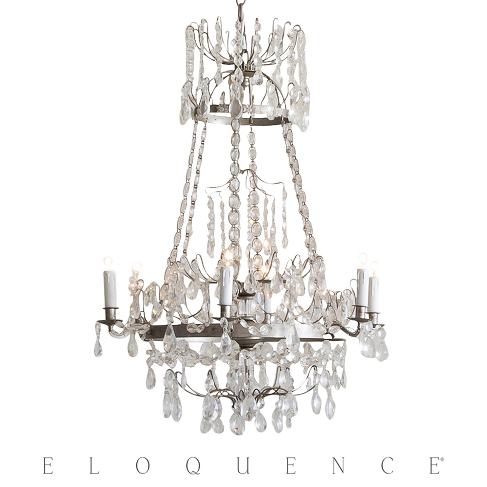 Eloquence® Albertina Chandelier in Silver