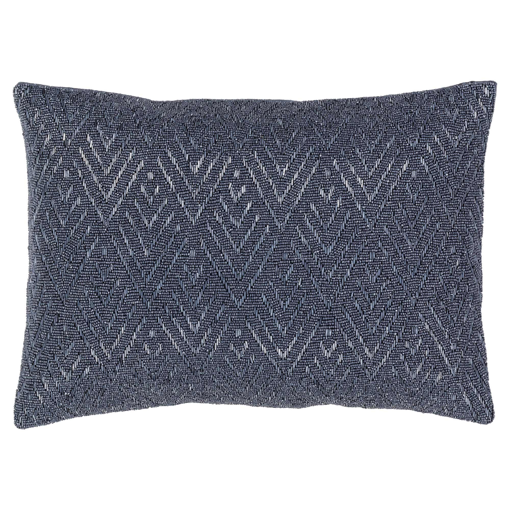 Lusins Global Regency Woven Grey Pillow - 13x19