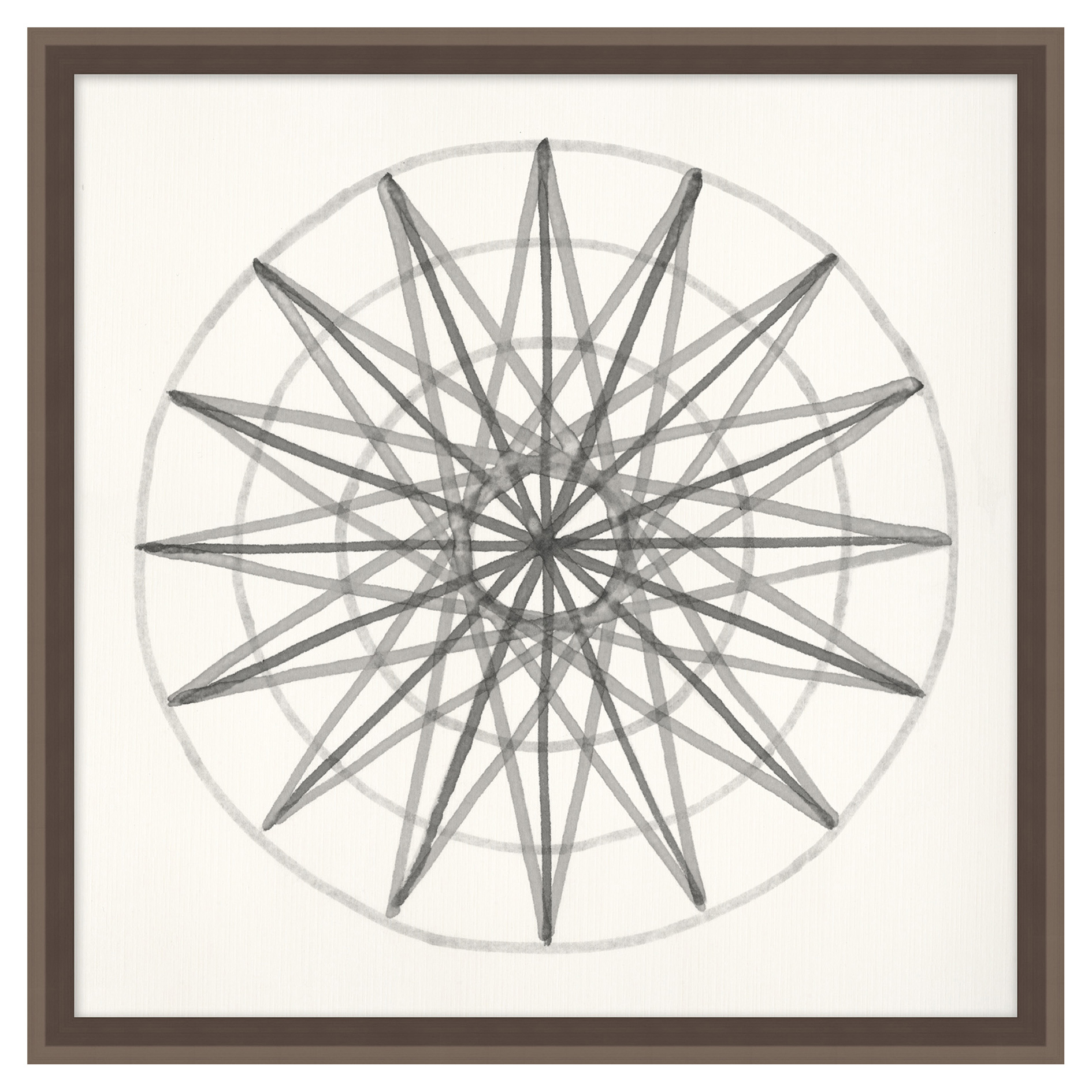Geometry Start Soft Grey Contemporary Art