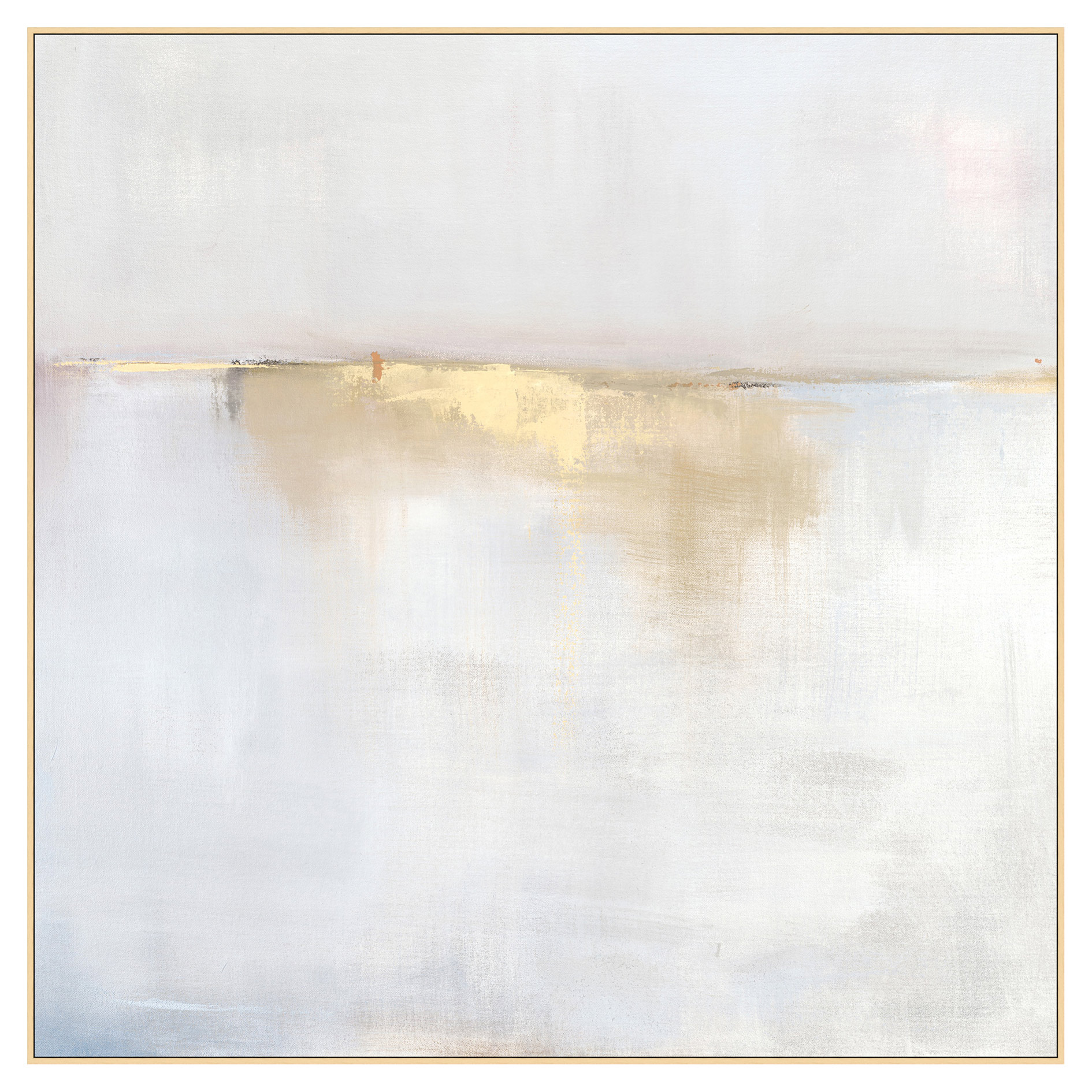 Fog Mist Sea Grey Abstract Canvas - II  sc 1 st  Kathy Kuo Home & Designer Wall Art - Eclectic Wall Art | Kathy Kuo Home