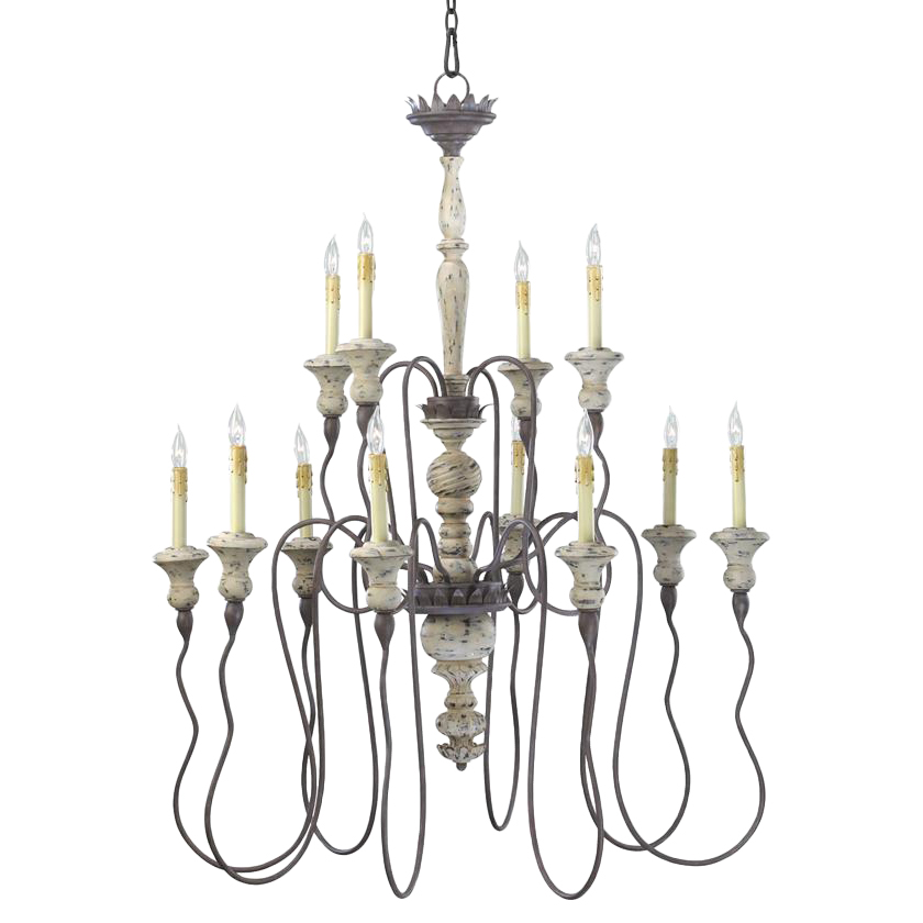 french country lighting. Provence French Country White And Grey Wash 12 Light Chandelier Lighting .