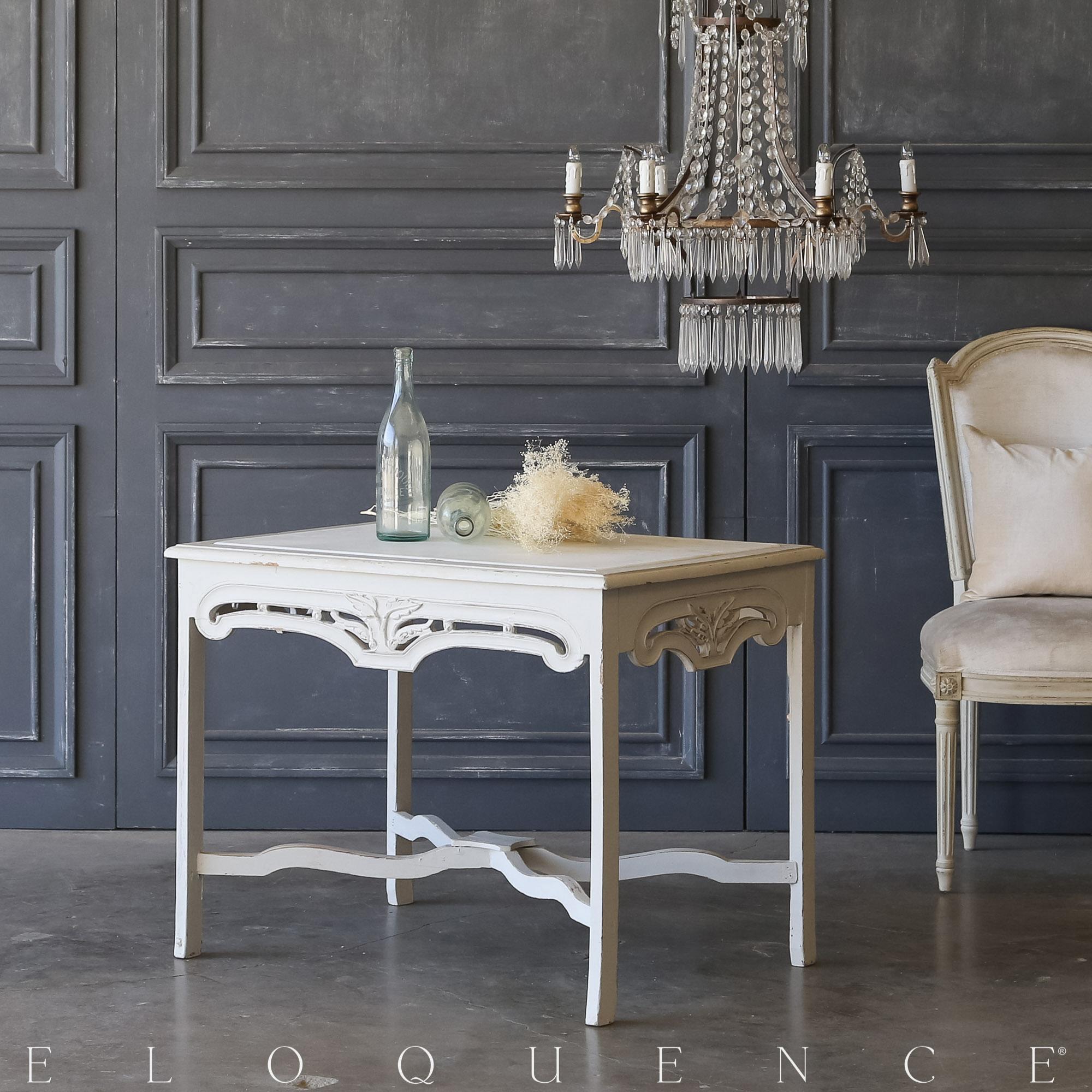 Eloquence® Vintage Nouveau End Table: 1940