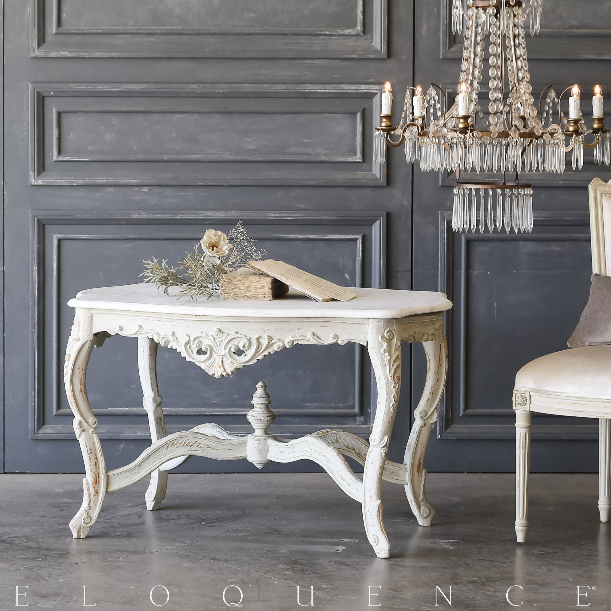 Eloquence® Vintage Opulent Tall Coffee Table: 1940