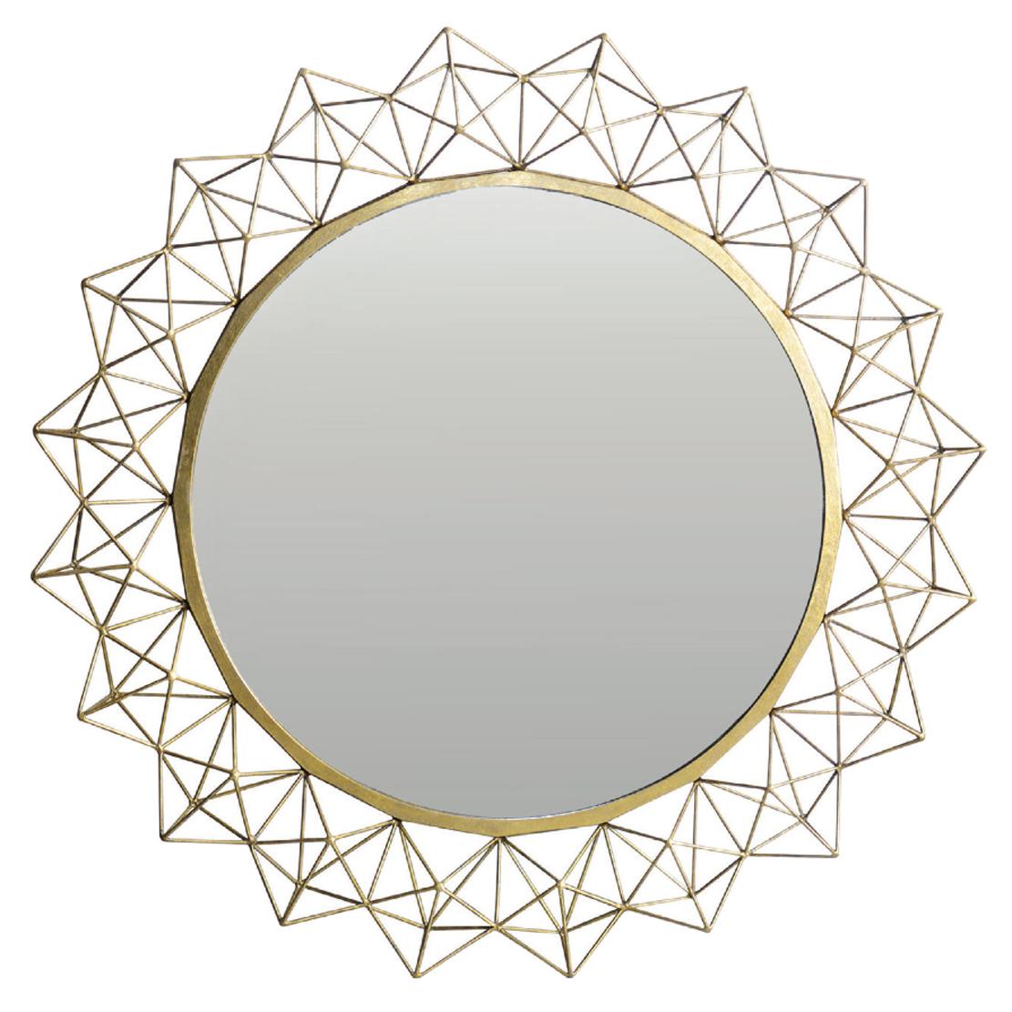 Oly Kaleidoscope Round Large Mirror - 48D
