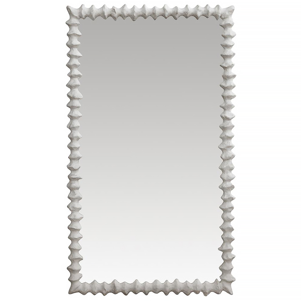 Clyde Oly Frost White Mirror - 56H