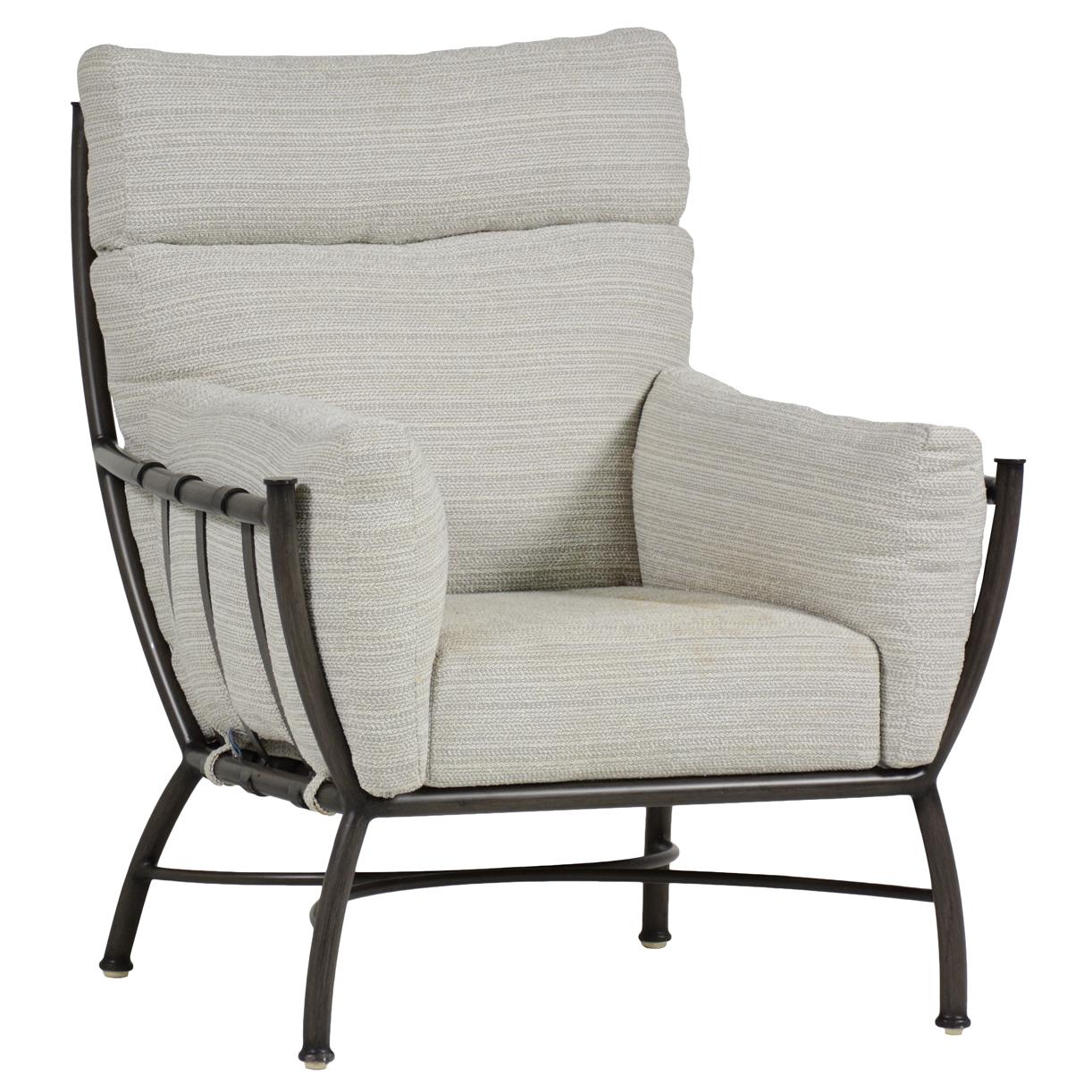 High Quality Summer Classics Majorca Silver Slate Grey Outdoor Armchair