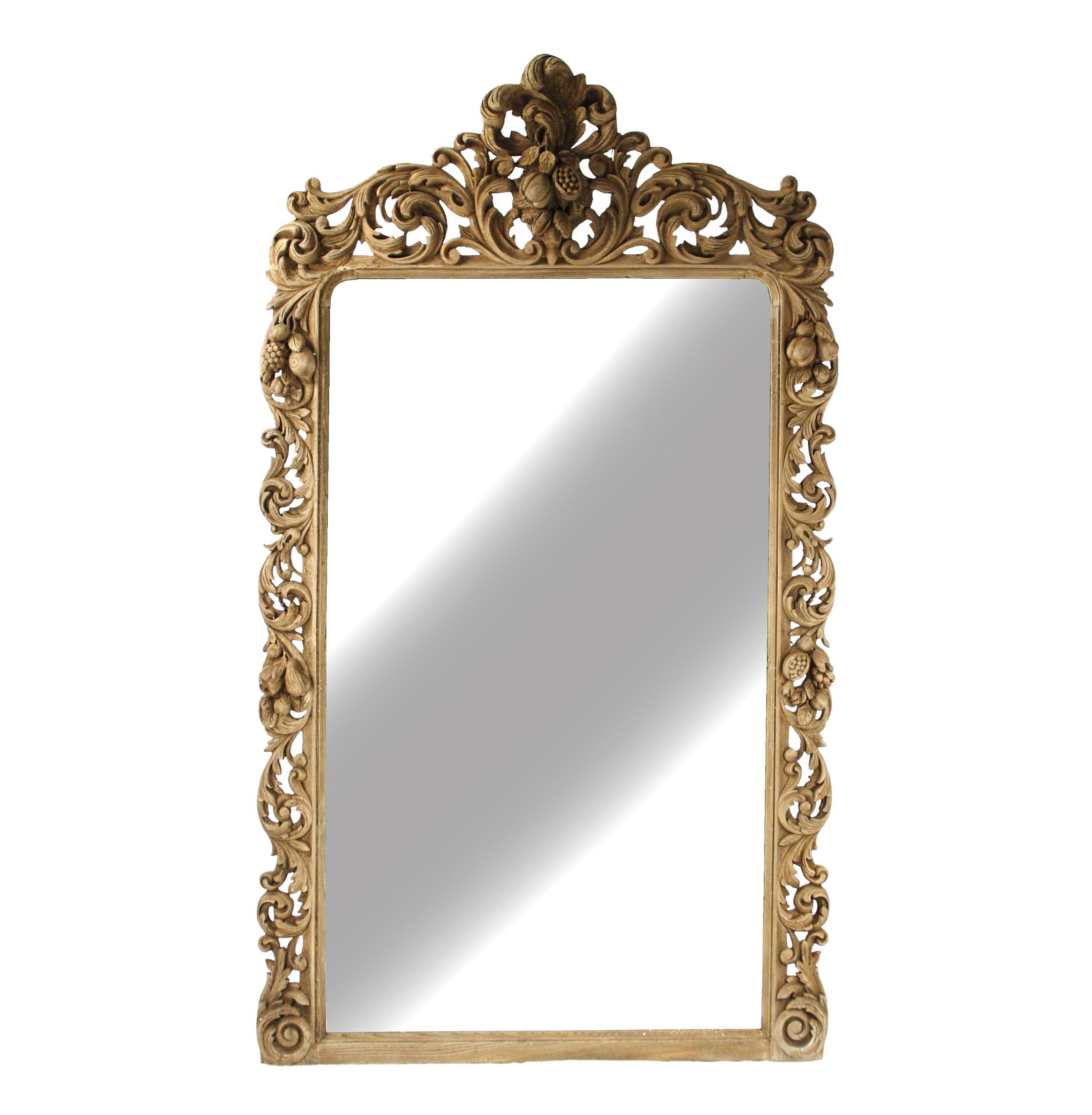 Designer Floor Mirrors - Eclectic Floor Mirrors | Kathy Kuo Home