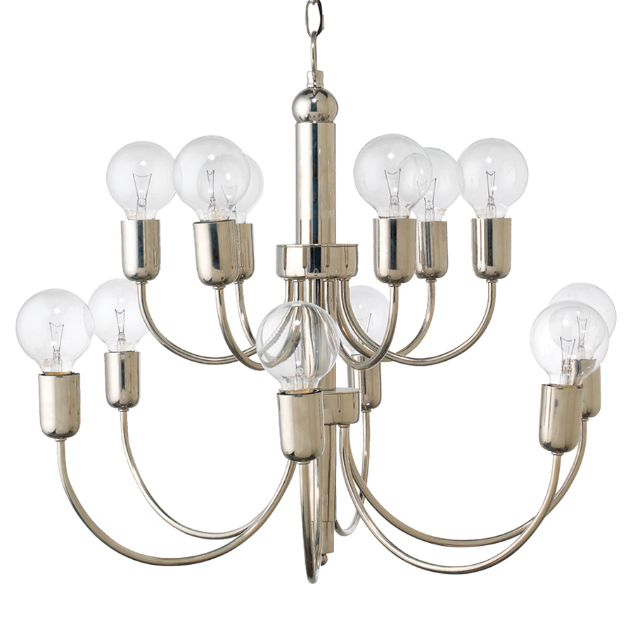 Designer chandeliers eclectic chandeliers kathy kuo home little modern classic silver metal chandelier aloadofball Choice Image