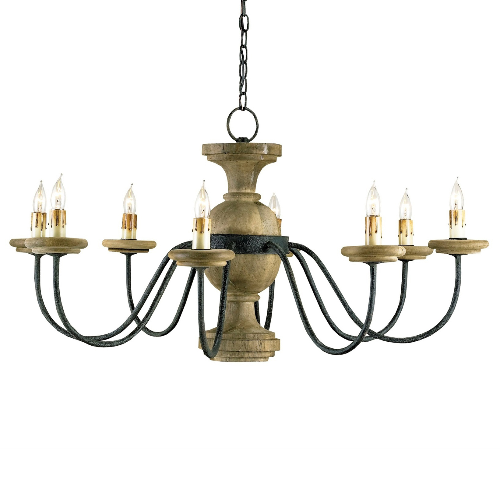 Stroud French Country 8 Light Elegant Chandelier