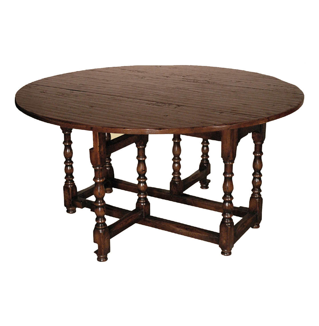English Tudor Style Rustic Gate Leg Drop Leaf Dining Table : product4475 from www.kathykuohome.com size 1116 x 1140 jpeg 310kB