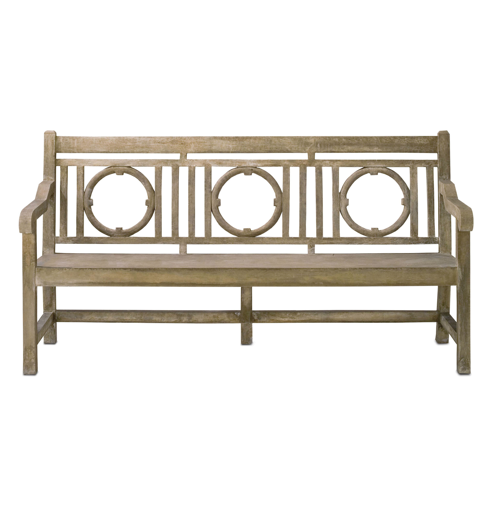 Designer Outdoor Benches - Eclectic Outdoor Benches | Kathy Kuo Home