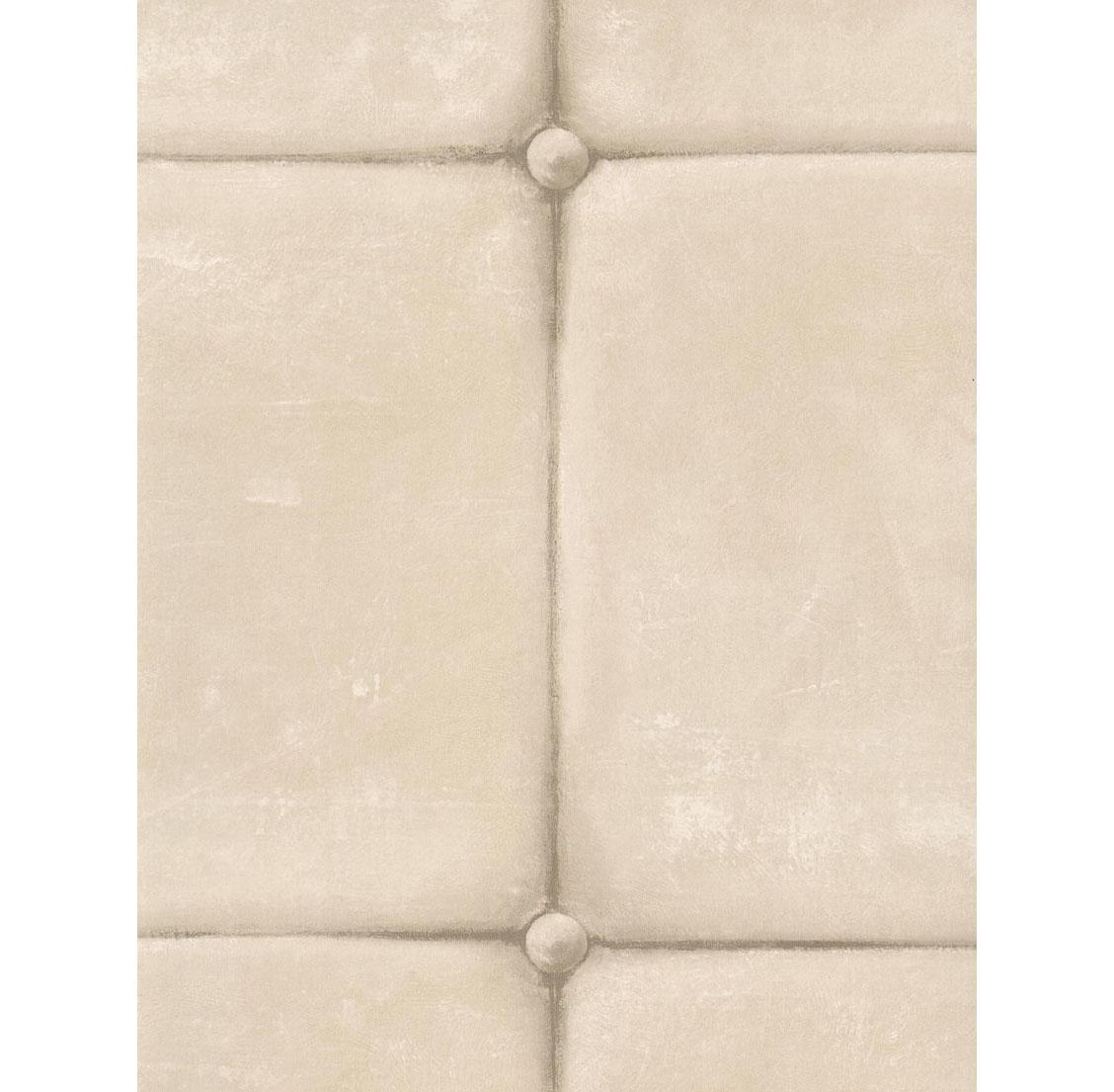 British Industrial Old Tile Wallpaper - Ivory