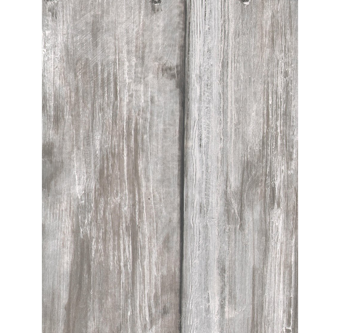 Rustic Lodge Timber Panel Wallpaper - Limed