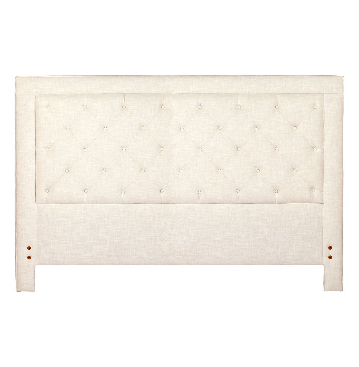 Darcy Classic Button Tufted Tall Headboard - King