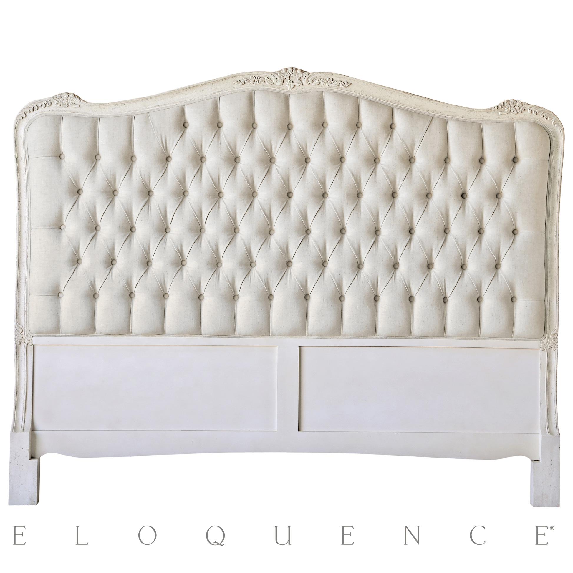 Eloquence® Sophia King Headboard in Weathered White