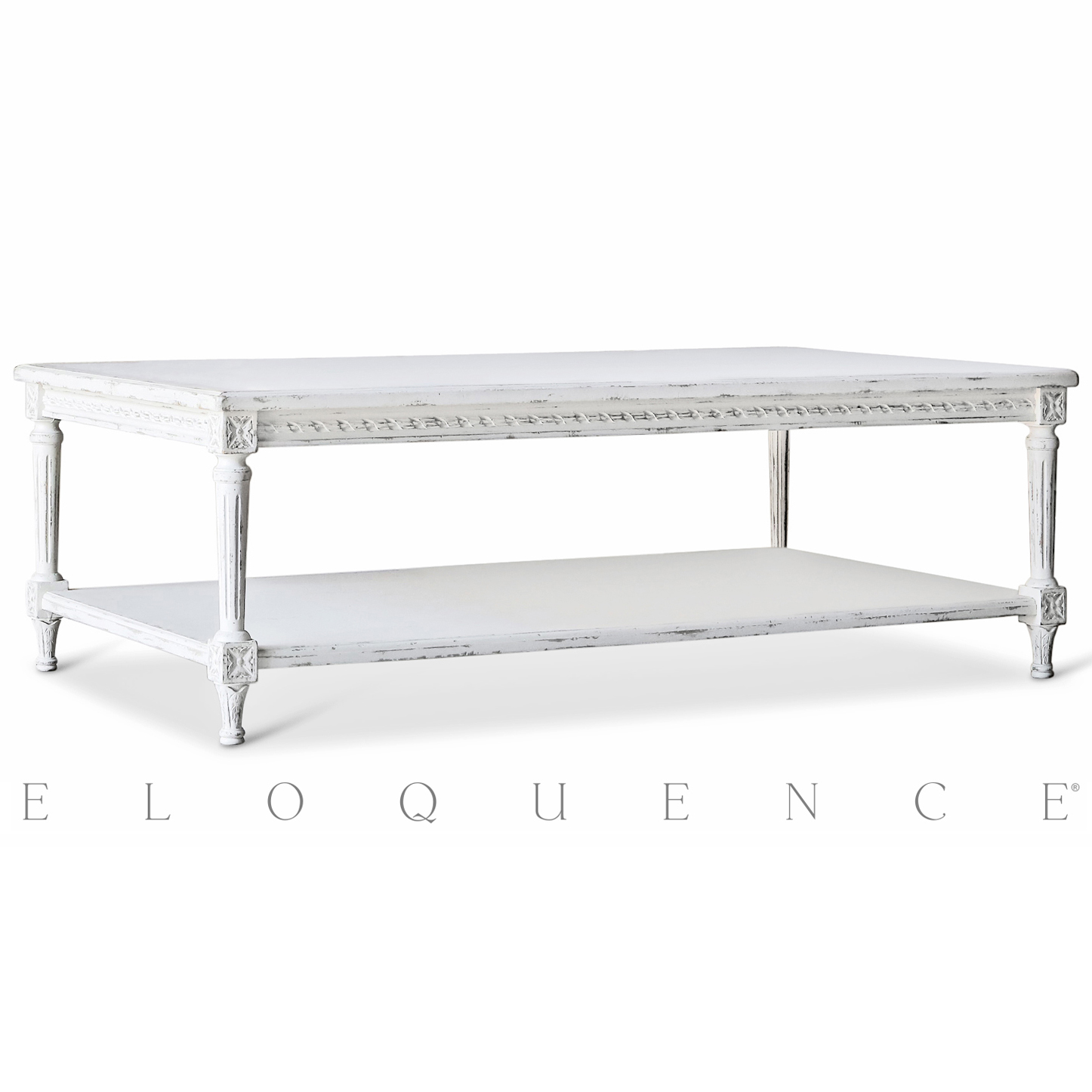 Eloquence® Grande Le Courte Coffee Table in Oyster