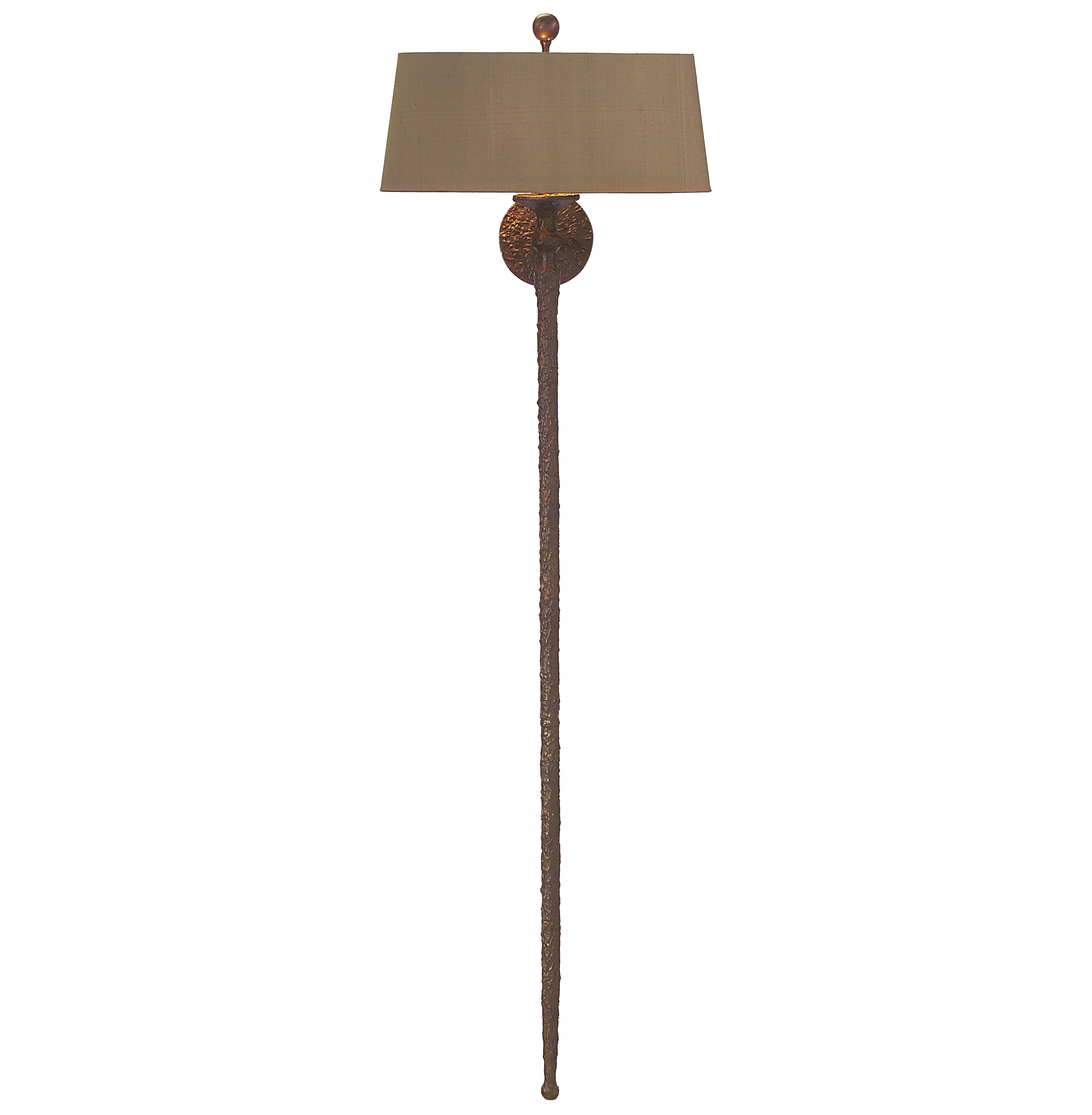 Henriette French Global Antique Bronze Wall Sconce