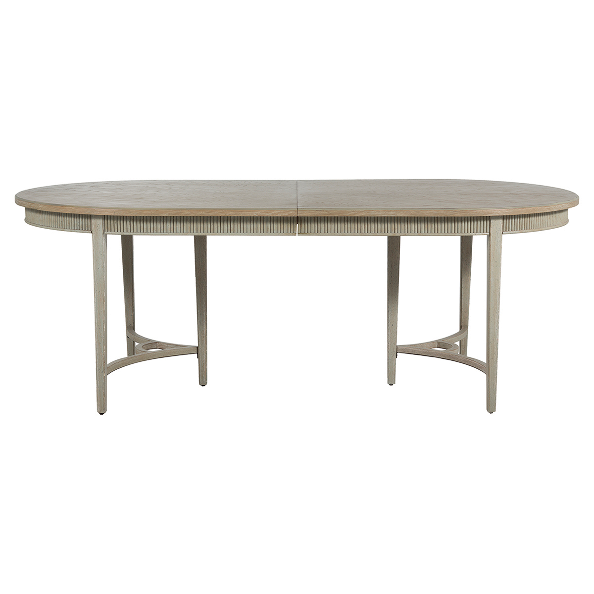 Whitlock French Country 1 Leaf Extendable Oak Dining Table