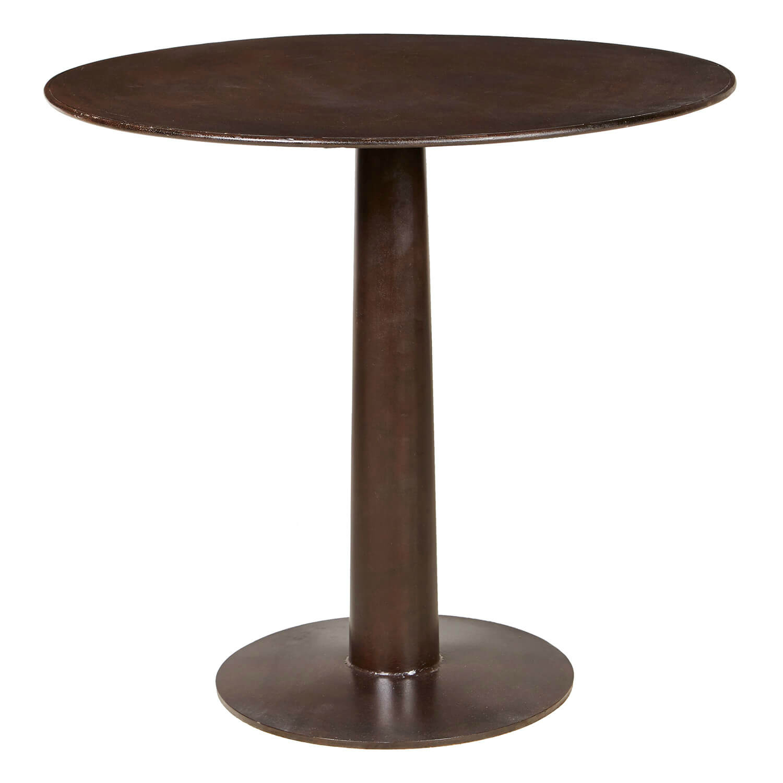 Wallance Industrial Loft Iron Round Bistro Table