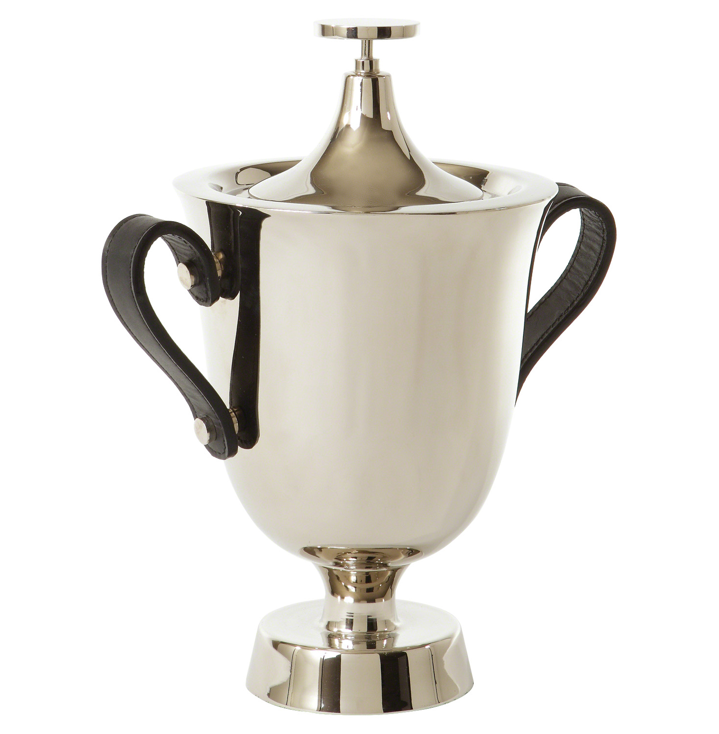 Celebration Hollywood Regency Silver Ice Bucket with Lid