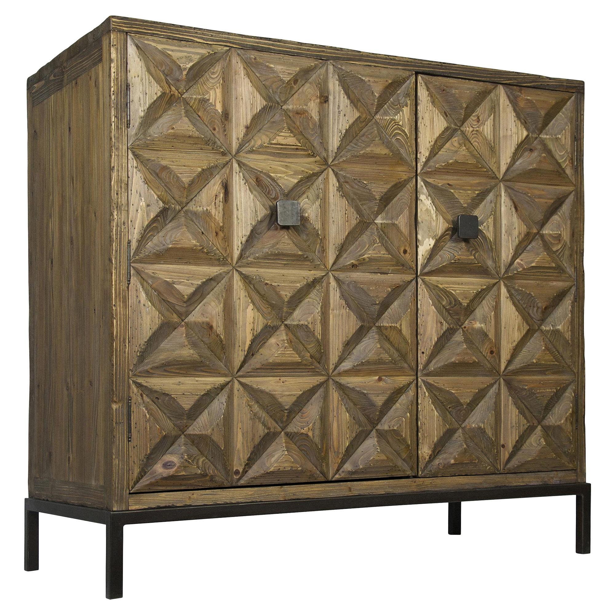 Bia Global Bazaar Reclaimed Wood 2 Door Sideboard