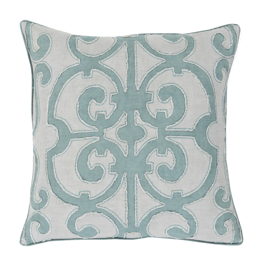 down country sandra pillow productlist product eclectic decorative teal french linen kathy pillows designer
