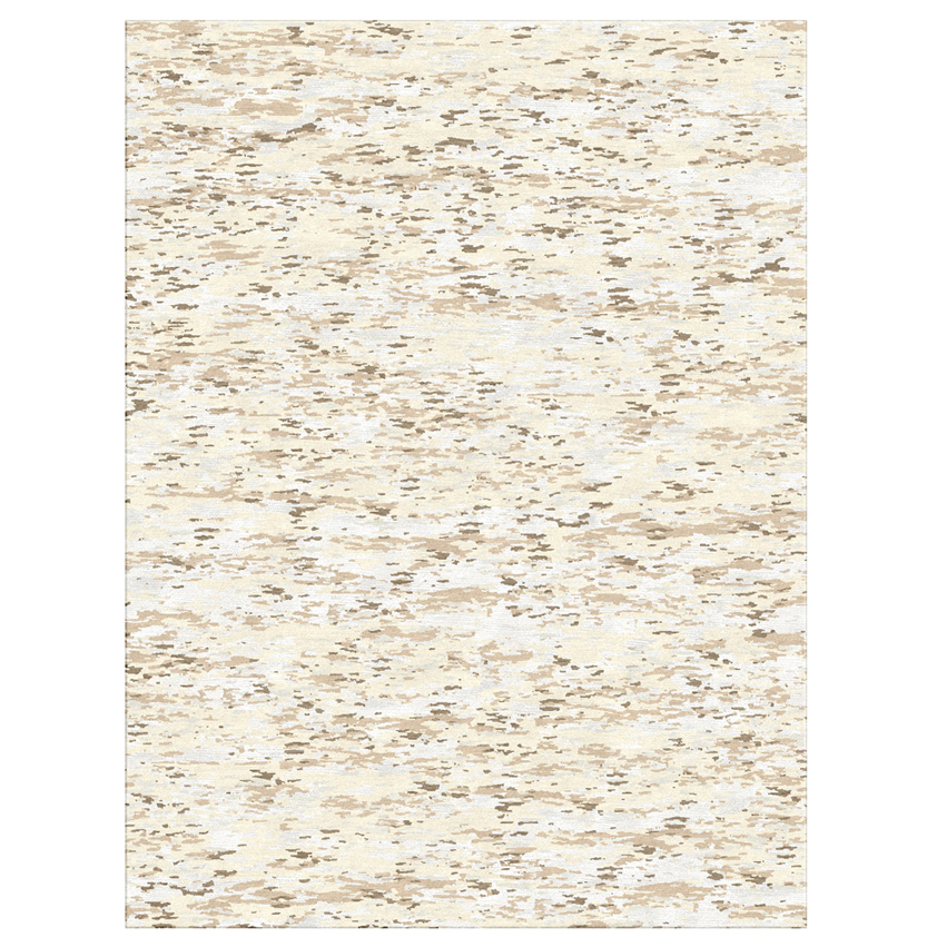 Kaley Natural Hand Knotted Tibetan Wool Rug - 8x10