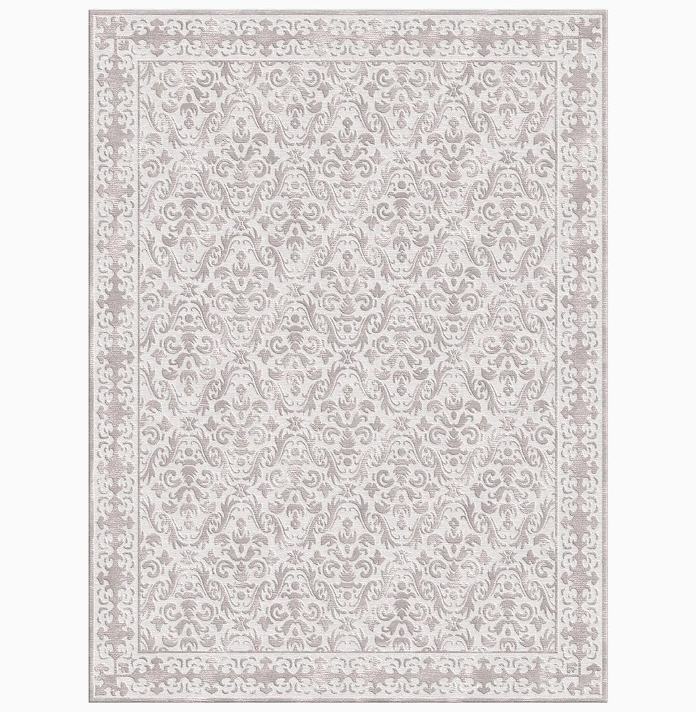 Calandra Silver Hand Knotted Tibetan Wool Rug - 9x12