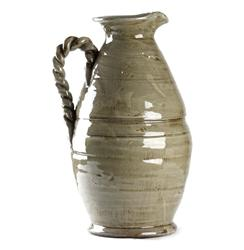 Athenaeum French Country Grey Pitcher Vase | 7168 GREY