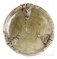 Athenaeum Earthenware Decorative Center Plate | 8148 GREY