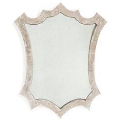 Astrid French Country Rustic Grey Wall Mirror