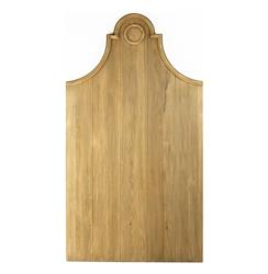 Cassandra French Country Solid Reclaimed Elm Wood Twin Headboard | T318 E255-3 TWIN