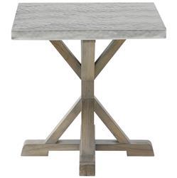 Lapo Industrial Loft Portobello Mindi Wood Side End Table