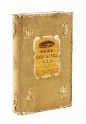 Livre Antique Farmhouse Book Storage Box - 9.5 Inch