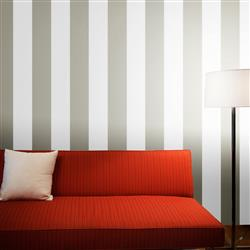 Stripes Modern Classic Light Dark Grey Removable Wallpaper