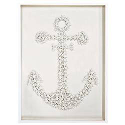 Sanibel Coastal Starfish Anchor Wall Decor - 26 Inch - by WJC Design