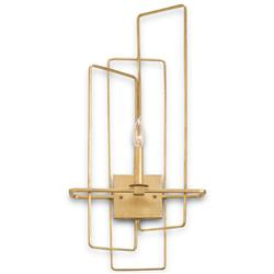 Rittenhouse Modern Brass Right Facing Sconce